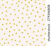 seamless pattern of gold foil... | Shutterstock .eps vector #279346808