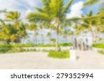 palm trees background | Shutterstock . vector #279352994