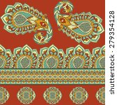 seamless pattern based on... | Shutterstock .eps vector #279354128