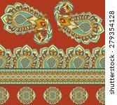 seamless pattern based on... | Shutterstock .eps vector #279354128