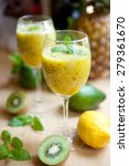 Smoothie With Kiwi  Lime ...