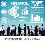 chart currency loan financial...   Shutterstock . vector #279364523