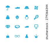 accessories icons universal set ...   Shutterstock . vector #279366344