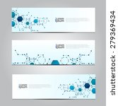 vector design banner network... | Shutterstock .eps vector #279369434