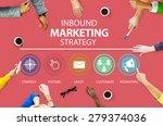 inbound marketing strategy...   Shutterstock . vector #279374036