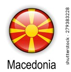 macedonia official state flag | Shutterstock .eps vector #279383228