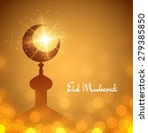 vector islamic background with... | Shutterstock .eps vector #279385850
