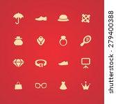 accessories icons universal set ... | Shutterstock . vector #279400388