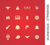 accessories icons universal set ... | Shutterstock . vector #279400430