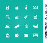 b2b icons universal set for web ... | Shutterstock . vector #279403340