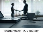 business devices and documents... | Shutterstock . vector #279409889