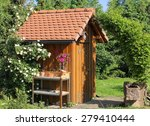 Tool Shed With Standpipe And...
