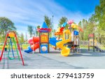 swing carousel in the park for... | Shutterstock . vector #279413759