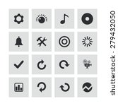 audio icons universal set for... | Shutterstock . vector #279432050