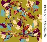 flower background | Shutterstock .eps vector #27944213