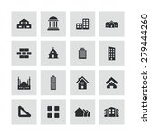 architecture icons universal... | Shutterstock . vector #279444260