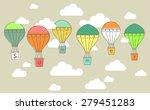 vector illustration of an air... | Shutterstock .eps vector #279451283