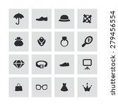 accessories icons universal set ... | Shutterstock . vector #279456554