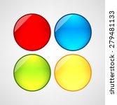 web buttons set | Shutterstock .eps vector #279481133