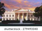 the white house  washington d.c.... | Shutterstock . vector #279493340