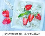cottage with strawberry | Shutterstock . vector #279503624