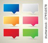 color vector paper speech... | Shutterstock .eps vector #279510578