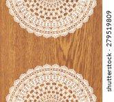 white crochet doily. vector...   Shutterstock .eps vector #279519809
