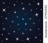 night sky | Shutterstock .eps vector #27952553