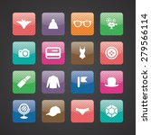 accessories icons universal set ... | Shutterstock . vector #279566114