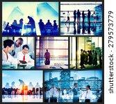 global business people... | Shutterstock . vector #279573779