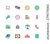 b2b icons universal set for web ... | Shutterstock . vector #279575063