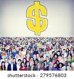 dollar sign money financial...   Shutterstock . vector #279576803
