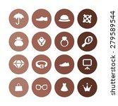 accessories icons universal set ... | Shutterstock . vector #279589544