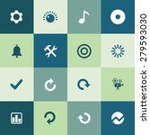 audio icons universal set for... | Shutterstock . vector #279593030