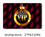 vip members card vector... | Shutterstock .eps vector #279611096