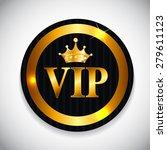 vip members card vector... | Shutterstock .eps vector #279611123