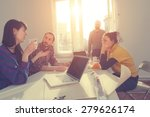 young group of people... | Shutterstock . vector #279626174