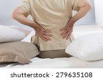 back ache senior man   Shutterstock . vector #279635108