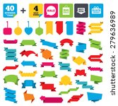 web stickers  banners and...   Shutterstock .eps vector #279636989