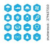 accessories icons universal set ... | Shutterstock . vector #279637310