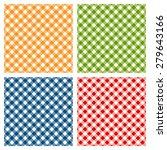 checkered tablecloth seamless... | Shutterstock .eps vector #279643166