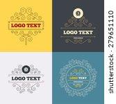 vintage flourishes calligraphic.... | Shutterstock .eps vector #279651110