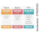 pricing table design template...