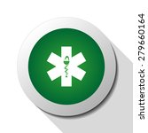 ambulance  web icon. vector... | Shutterstock .eps vector #279660164
