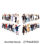 standing together together we... | Shutterstock . vector #279668303