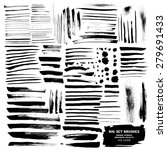 big set of brushes ink design... | Shutterstock .eps vector #279691433