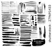 big set of brushes ink design... | Shutterstock .eps vector #279691433