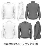 men's sweater design template ... | Shutterstock .eps vector #279714128