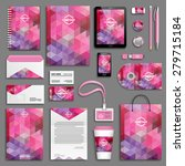 corporate identity template set.... | Shutterstock .eps vector #279715184