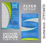 flyer brochure vector design | Shutterstock .eps vector #279718670